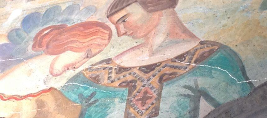 Muralmaleri sprekk